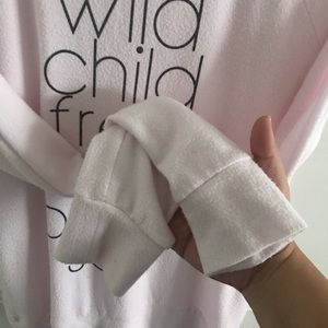 Chaser Sweaters - Chaser Medium Wild Child Free Spirit Pink Sweater